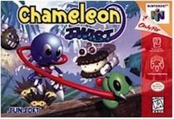 Chameleon Twist (USA) Box Scan